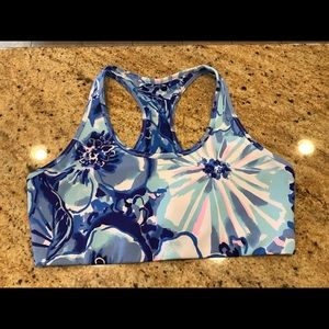 Lilly Pulitzer Racerback Large Bra